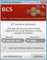 BCS-Fernwartung herunterladen.